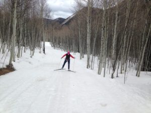 Ashcroft Ski Touring Center, XC skiing. Cross country ski skating