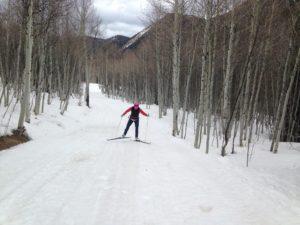 Ashcroft Ski Touring Center, XC skiing. Cross country ski skating