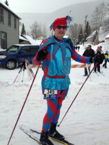 nordic, xc ski, costume, crested butte, alley loop