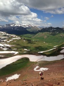 A long day hike from Crested Butte to Maroon Bells outside Aspen.